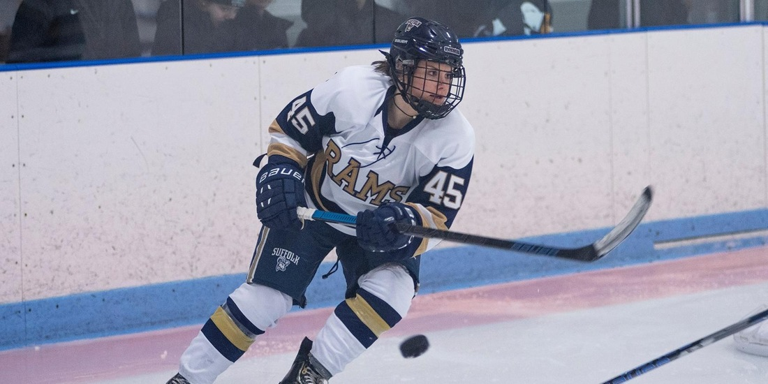 Women's Hockey Bests Plymouth State, 3-2, in NEHC Opener