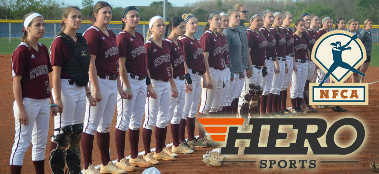 Softball Breaks Into NFCA National Top 20; Named HERO Sports Team of the Month