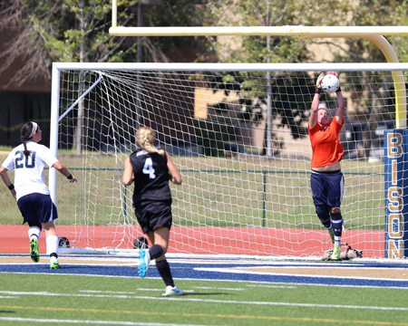 Gulvas notches 100th save in 5-0 loss to Keuka