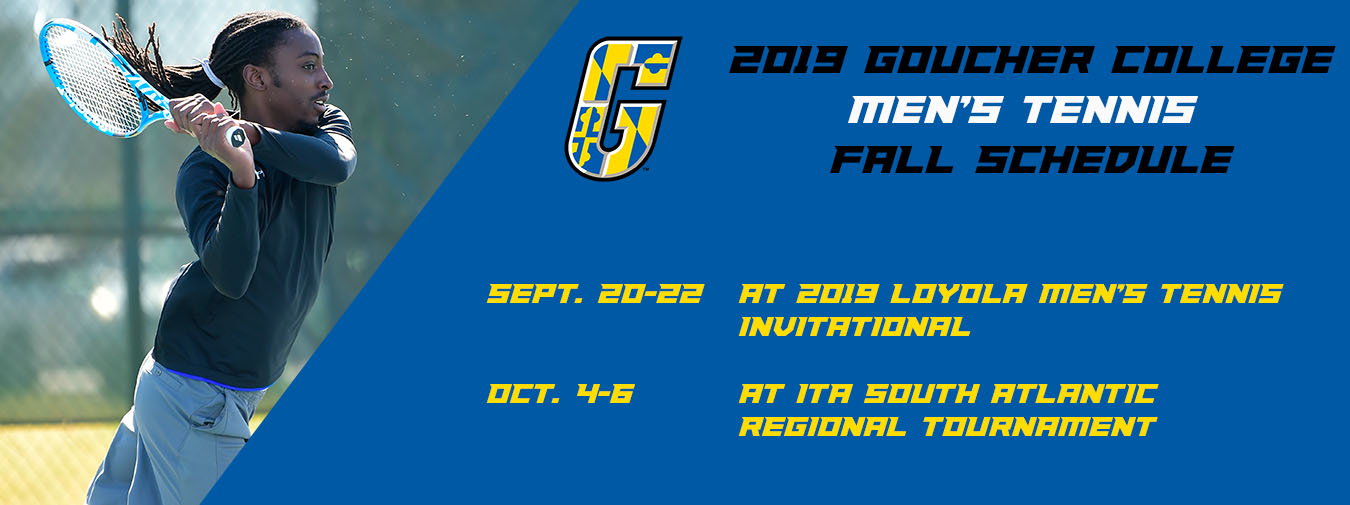 Goucher Men's Tennis Unveils Two Events For The 2019 Fall Schedule