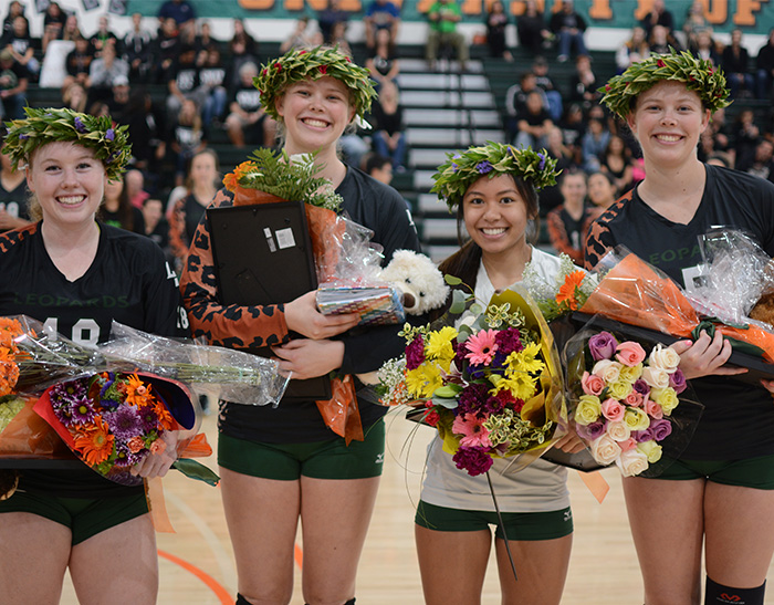 No. 24 Volleyball falls to No. 3 Cal Lutheran on Senior Night