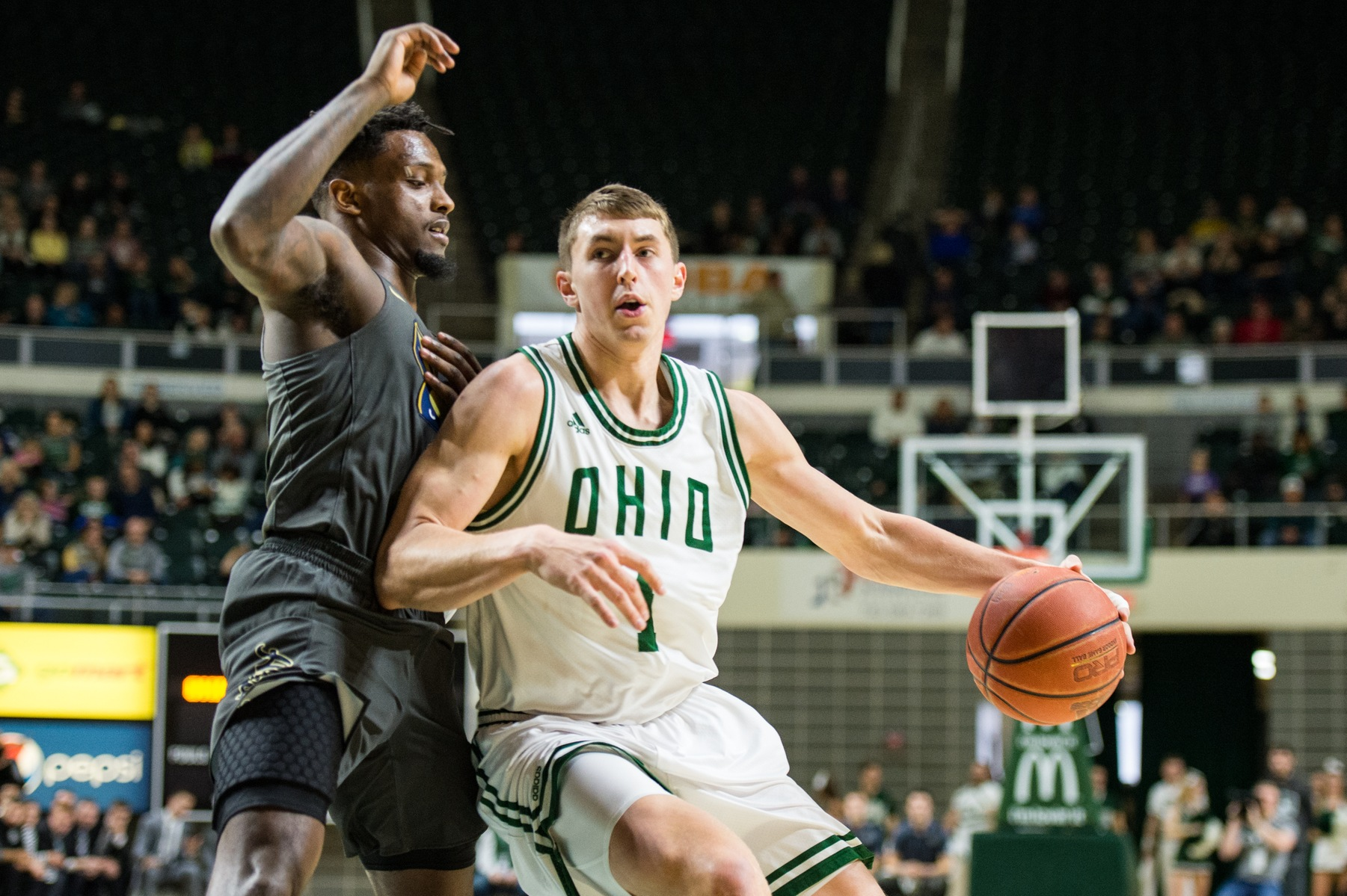 Ohio Men's Basketball Falls to Akron