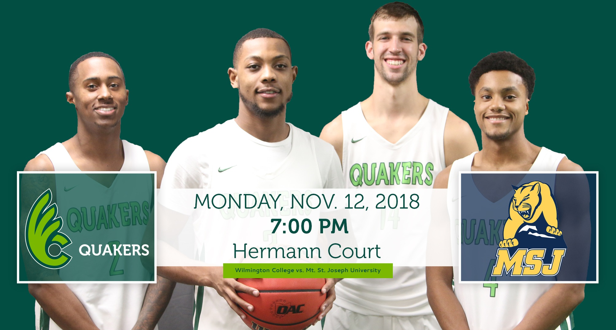 Men's Basketball Opens 2018-19 Season Versus Mount St. Joseph Monday