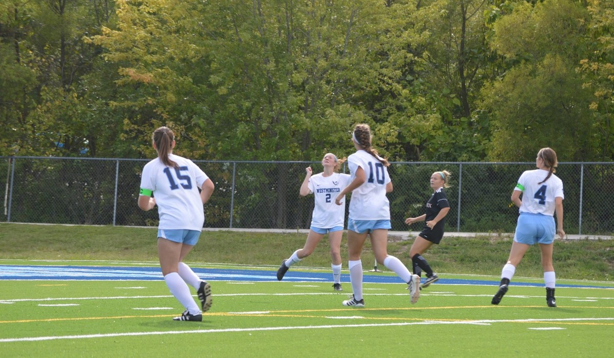 Westminster Women's Soccer Takes Down MacMurray