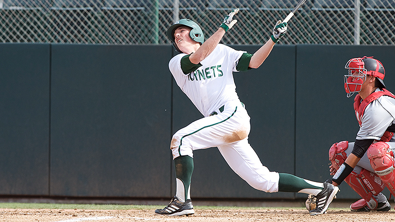 BASEBALL BLASTS UCSB IN 13-7 VICTORY