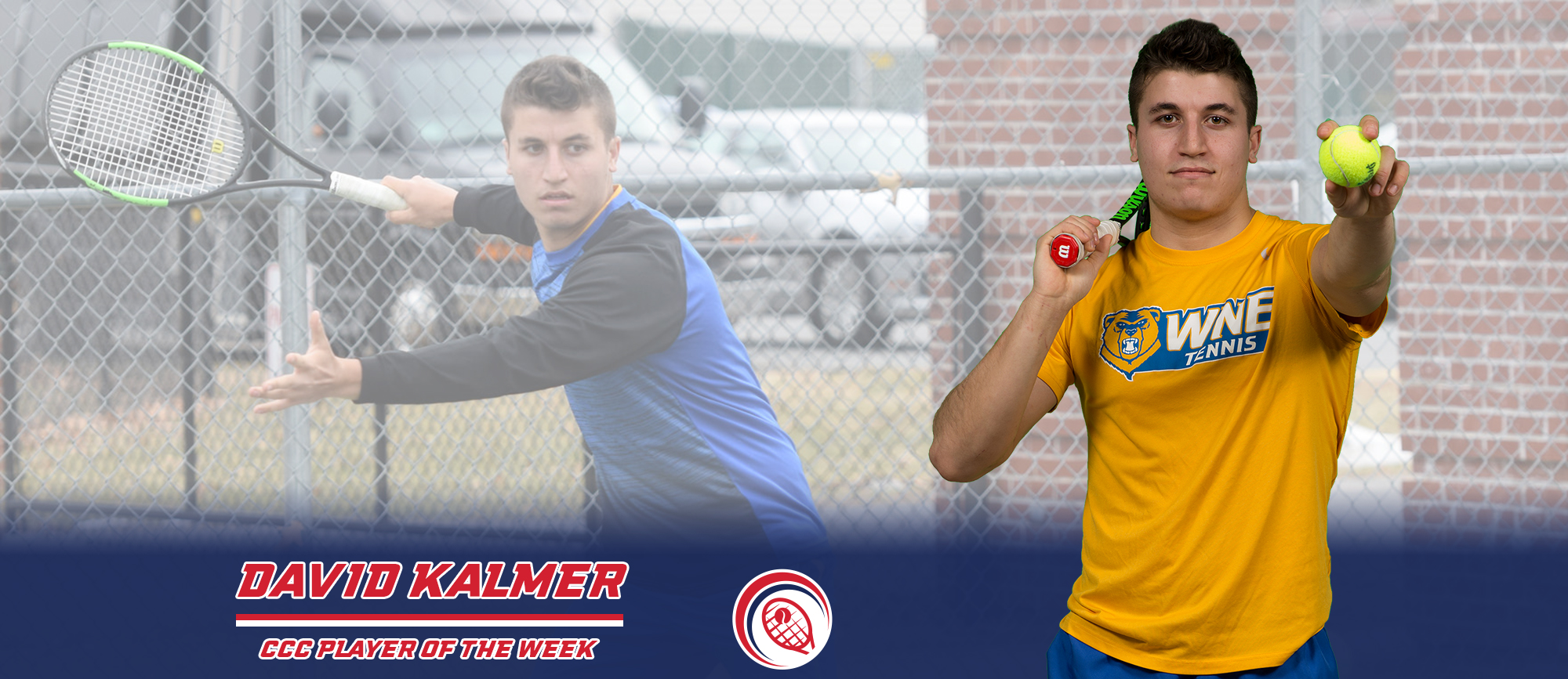 David Kalmer Earns CCC Player of the Week Honors