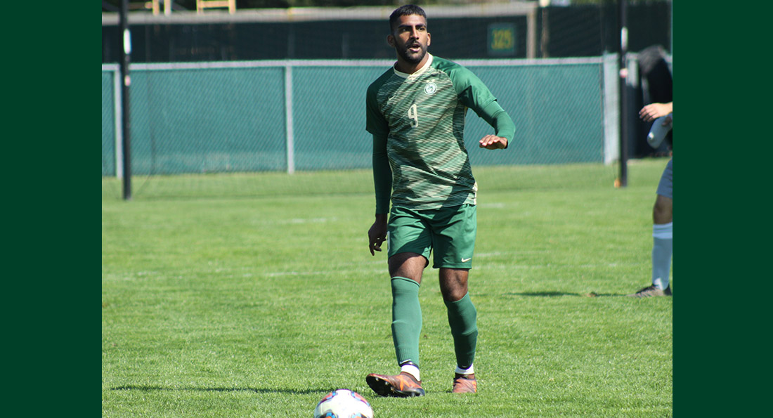 Darren Appanah had a goal and assist in the 3-1 win at Alderson Broaddus.