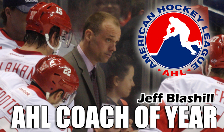 Former Bulldog Jeff Blashill Chosen As AHL Coach Of The Year