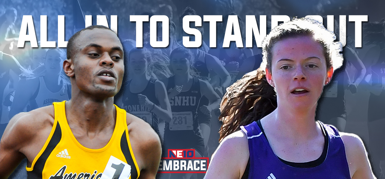 AIC's Kipkosgei and Stonehill's Knox Lead the Way as NE10 Names Cross Country Major Awards and All-Conference Teams