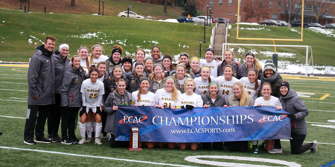 Gibson tallies twice to clinch ECAC title, MVP