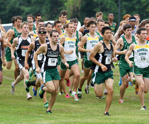 Sage men's cross country team opens campaign at SUNY-IT Invitational