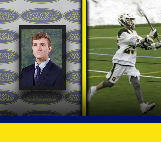 Oswego's Bacon and O'Donnell selected as Men's Lacrosse Athlete and Goalie of the Week