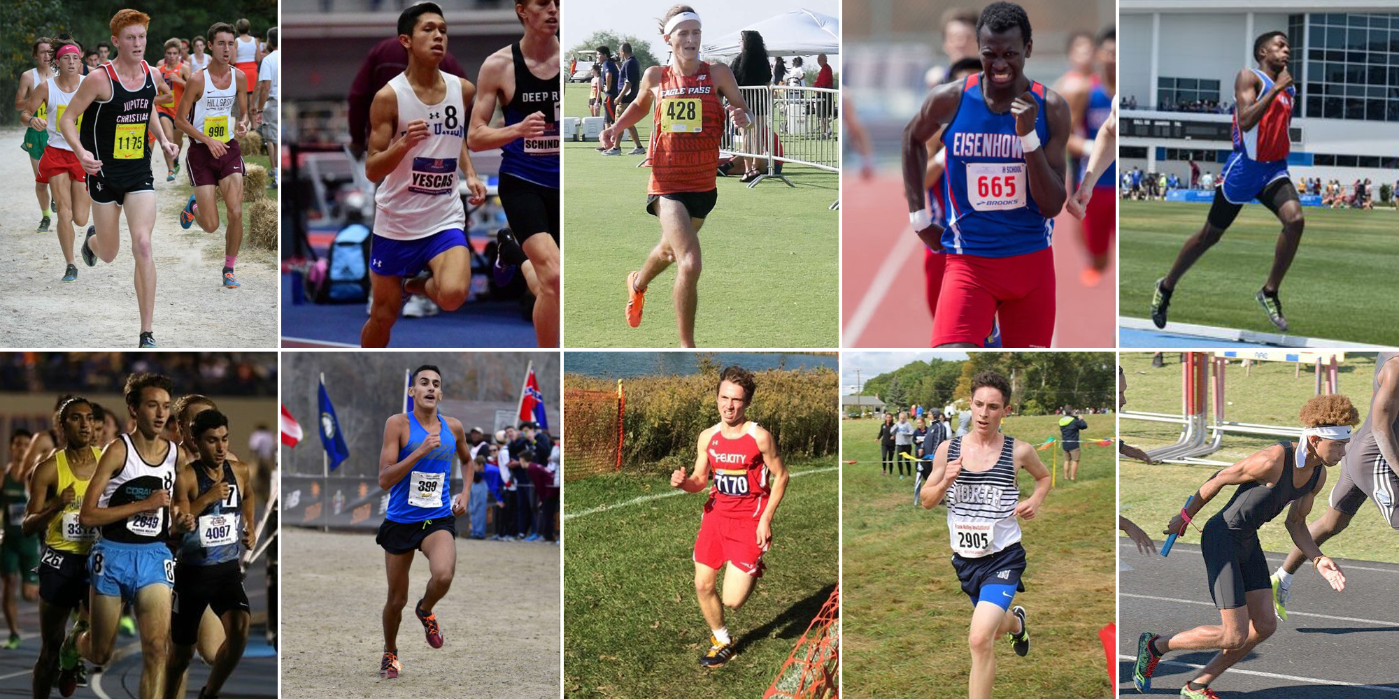 Men's Cross Country/Track Signs 10 for Inaugural Season