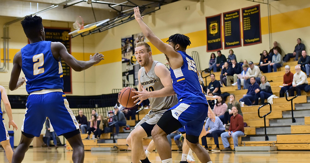 Men's Basketball Defeated by Nichols