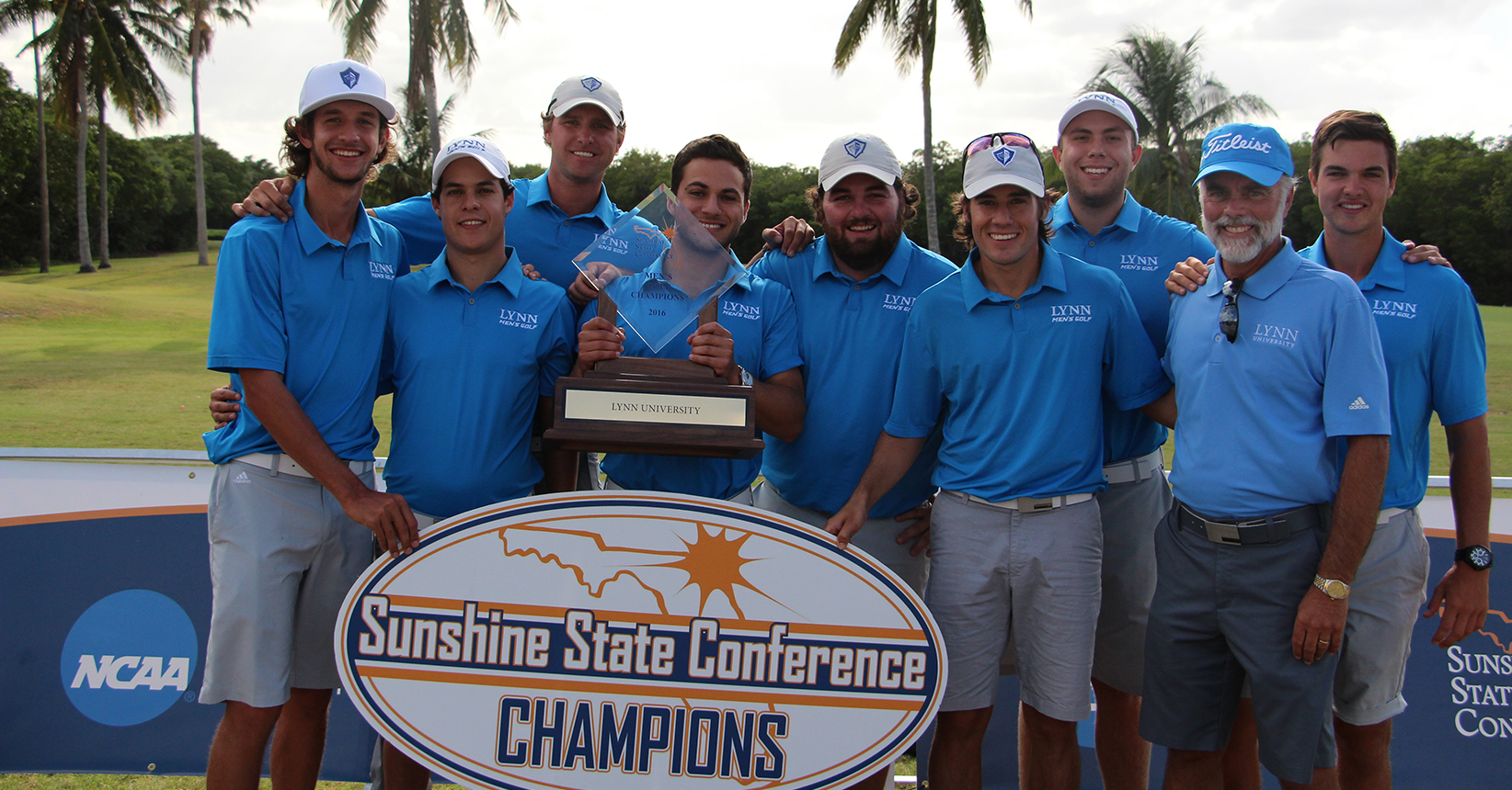 BACK-TO-BACK! Men's Golf Wins 2016 SSC Championship