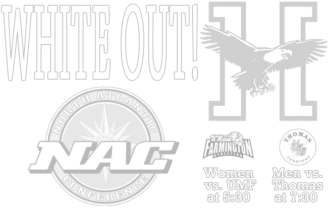Eagles Prepare for a White Out in NAC Quarterfinals at Newman Gymnasium