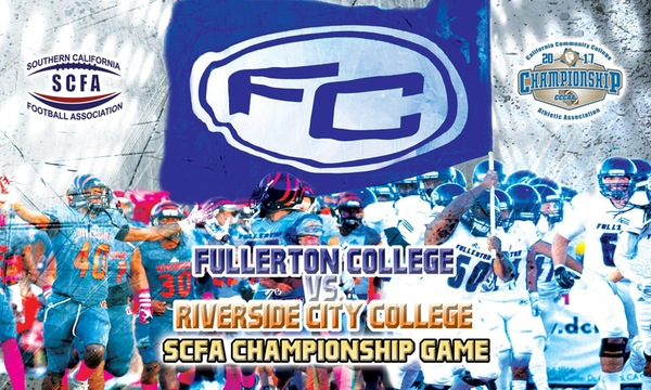 Trip to State Championship on the line as No. 1 Fullerton hosts No. 2 Riverside in SCFA title game