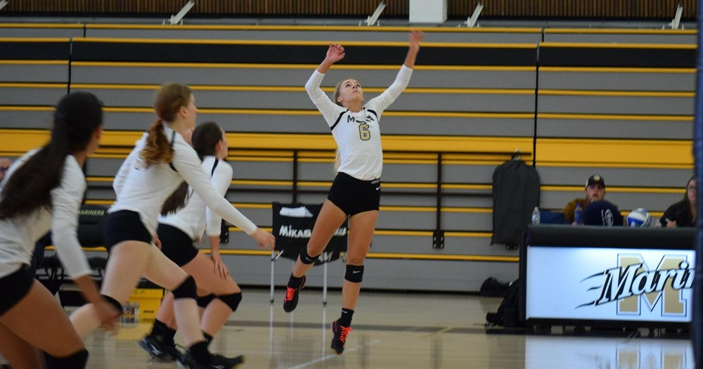 Mariners Volleyball Upends Napa Valley College on the Road 3-2