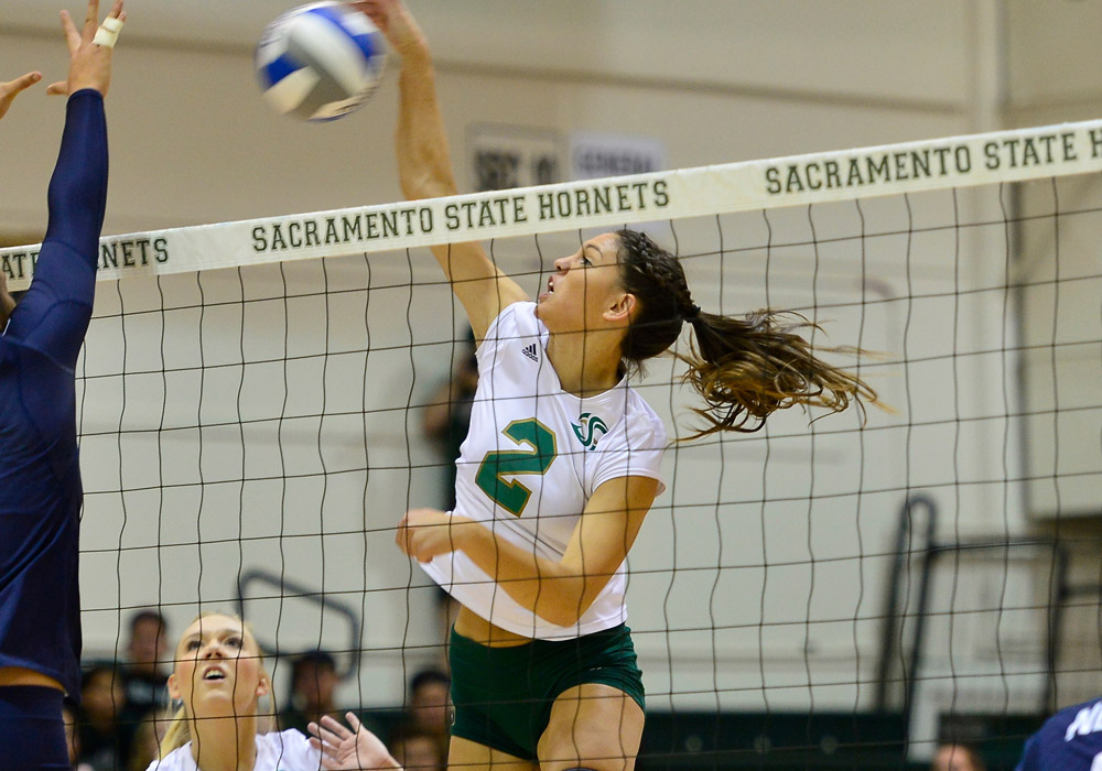 VOLLEYBALL REMAINS PERFECT IN THE BIG SKY WITH 3-1 WIN AT PORTLAND STATE