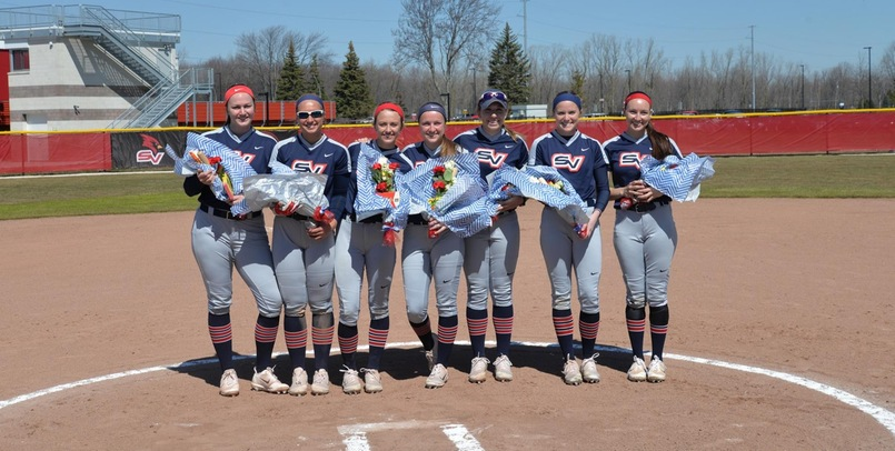 The Cardinals honored their seven seniors prior to Sunday's DH versus Northwood...
