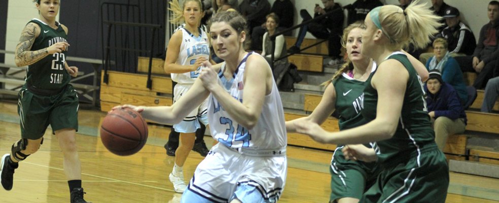 Lasers Hold on for 49-47 Non-Conference Win vs. Plymouth State