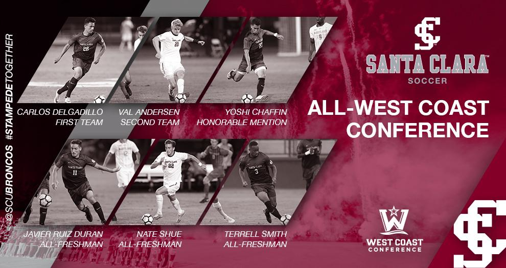 Men's Soccer – Six Broncos Recognized With All-Conference Honors