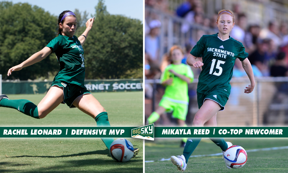 LEONARD BIG SKY WOMEN'S SOCCER DEFENSIVE MVP, REED TOP NEWCOMER AS SEVEN HONORED