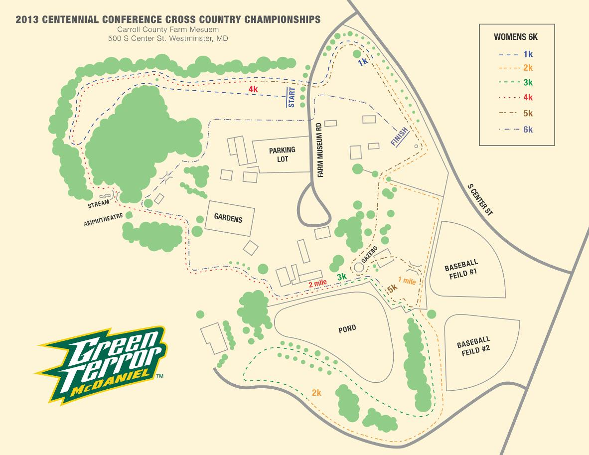 2013 Centennial Conference Cross Country Championships Mcdaniel