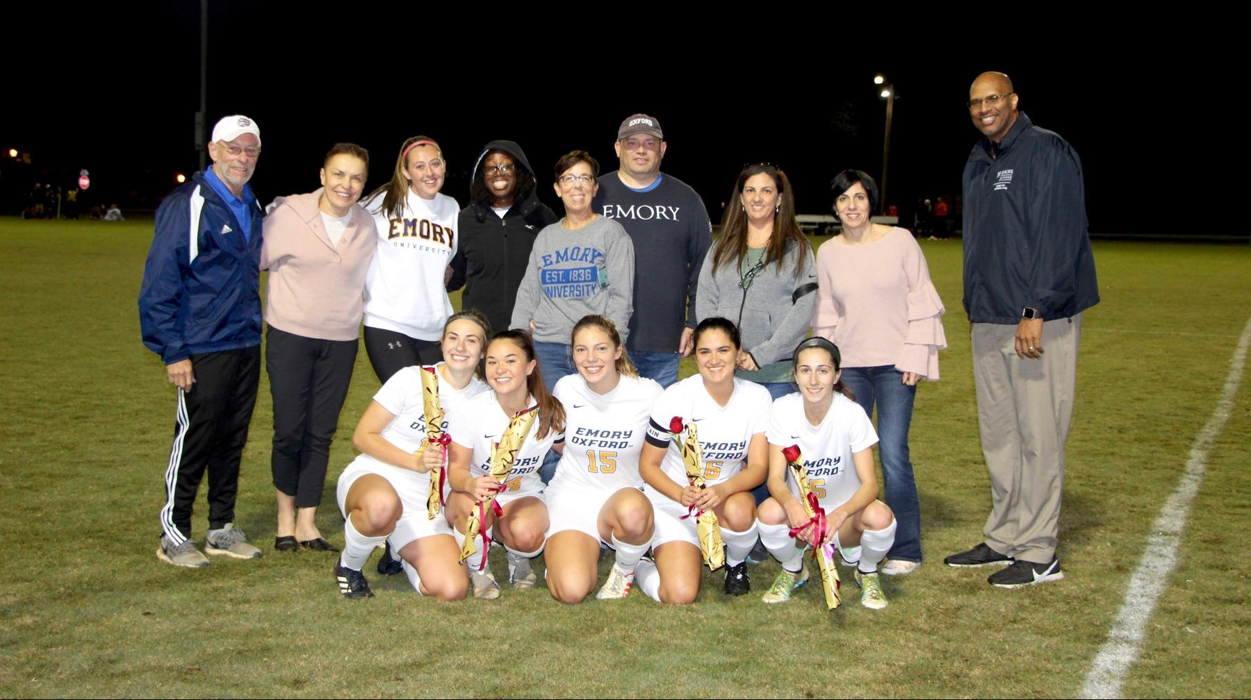 Women's Soccer Dominates on Sophomore Night