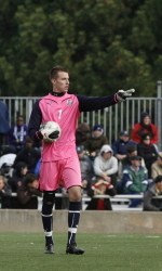 Stuver Selected as the Horizon League's Men's Soccer Player of the Week