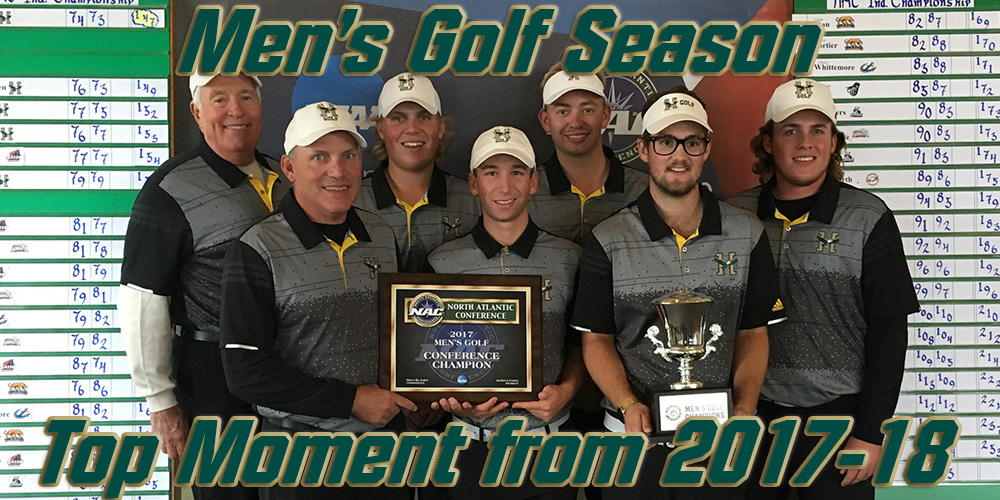 Top Moments of 2017-18: Men's Golf 2017-18 Season