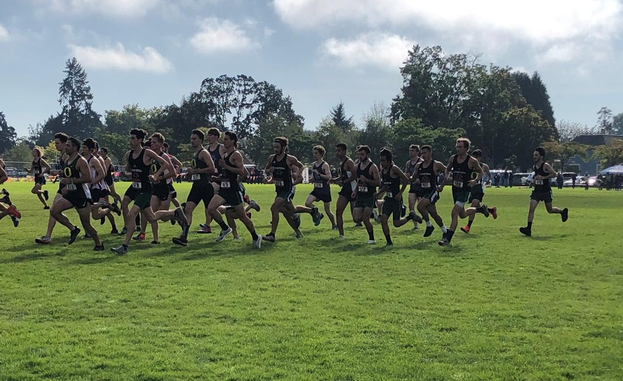 UCC Cross Country Races at Charles Bowles Invitational
