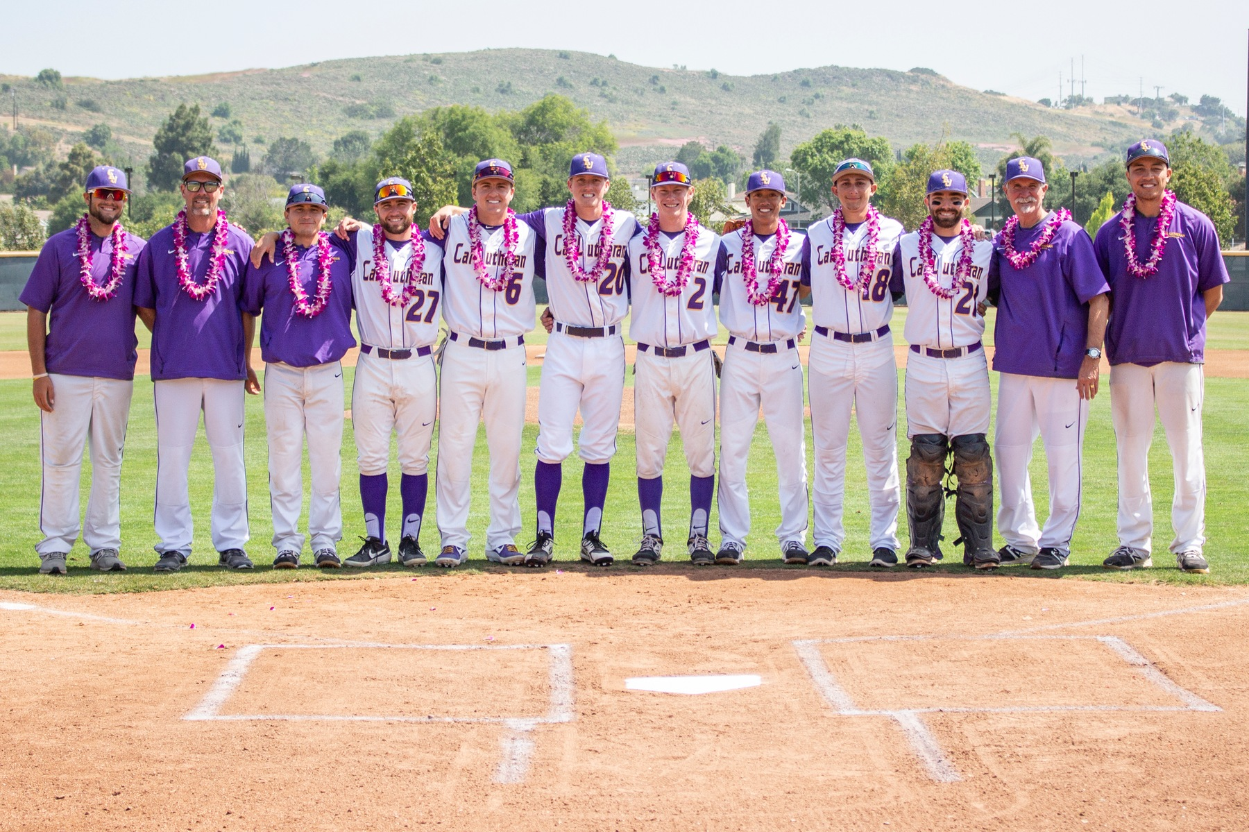 Kingsmen Send Seniors Off with Double Header Sweep
