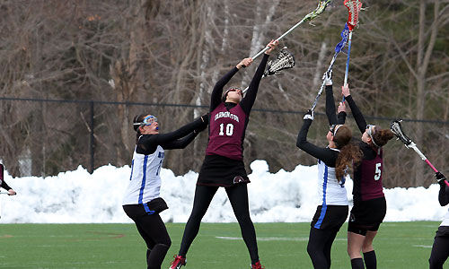 Beaver heartbreak in women's lax loss at NEC