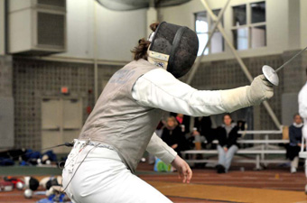 Men's fencing takes fifth at New Englands