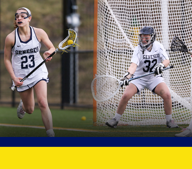 McFadden and Marafioti named Women's Lacrosse Athletes of the Week