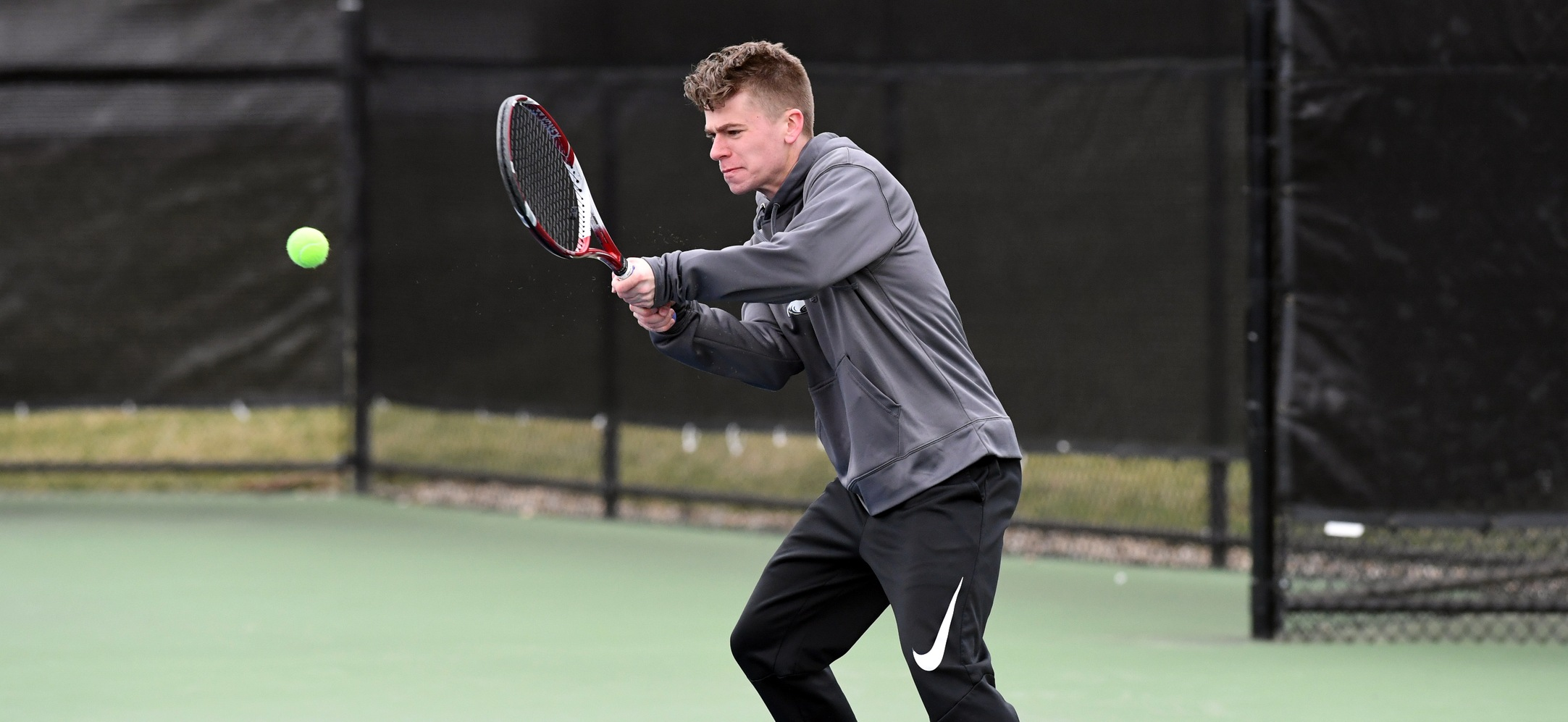Men's Tennis Remains Unbeaten in Landmark Play