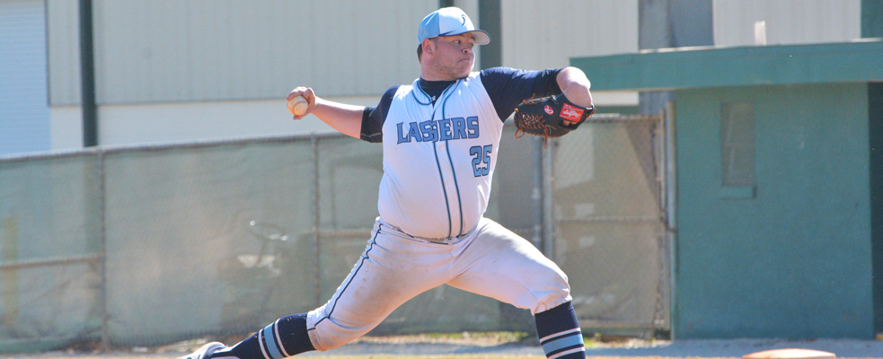Strong Pitching Sends Baseball to GNAC Sweep over JWU
