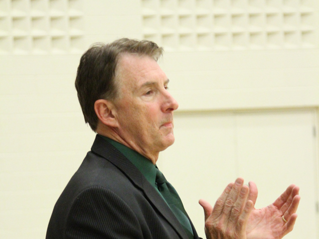 Head Coach Cliff Hunt