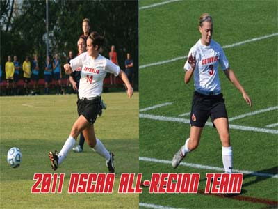 Two Cardinals named to NSCAA All-Region Team