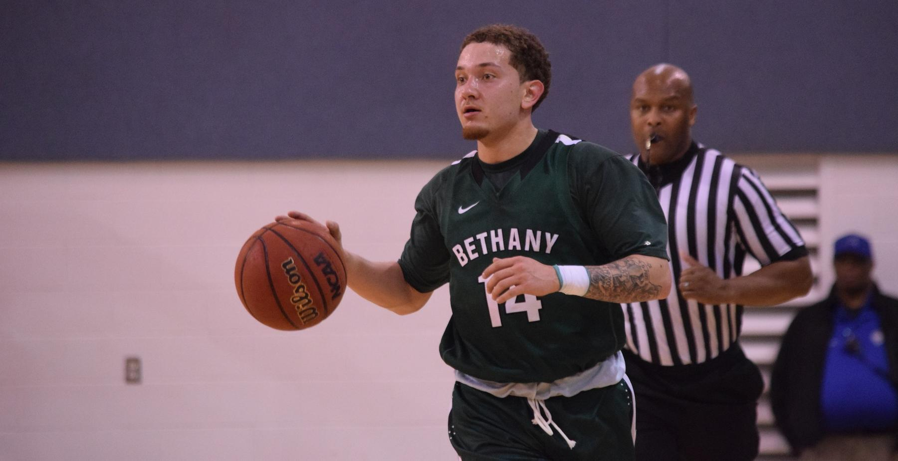 Men's Basketball Unable to Overcome Early Deficit in Season Opener