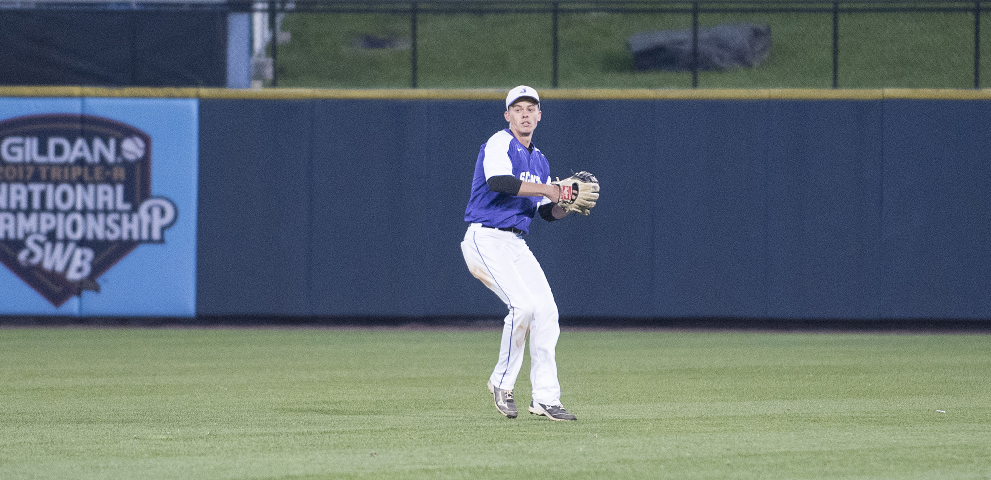 Senior center fielder Tommy Trotter had four hits, including two triples, and drove in three runs on Monday.