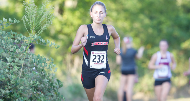 LC Women's Cross Country runs at Shenandoah Valley XC Invite