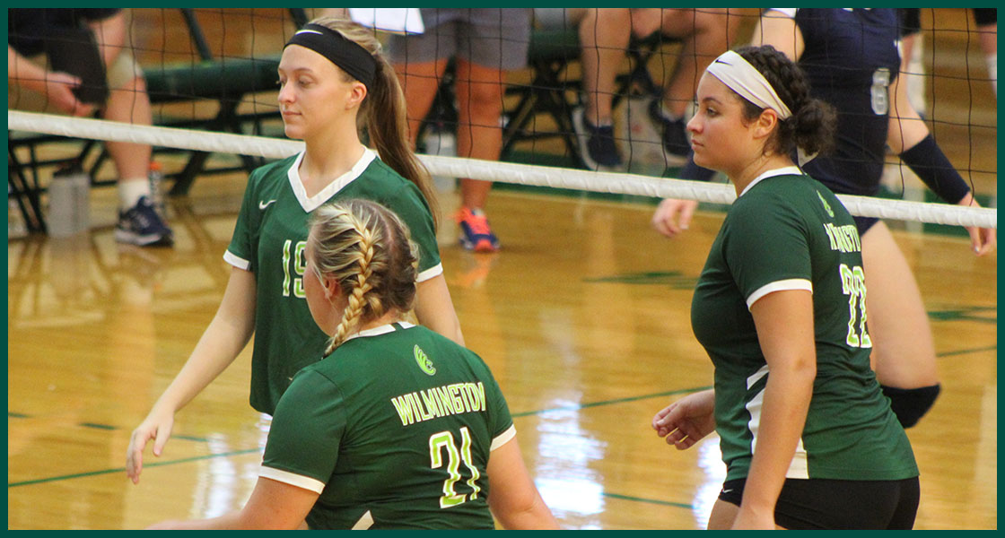 Nationally ranked ONU knocks off @DubC_Volleyball