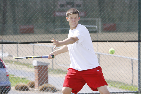 Men's Tennis Takes Down Virginia Wesleyan in Spring Season Opener