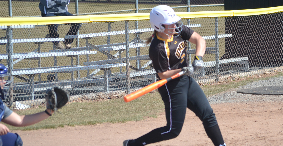 UMBC Softball Splits at Mount St. Mary's