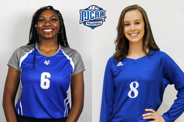 NTJCAC Volleyball Players of the Week (Sept. 3)