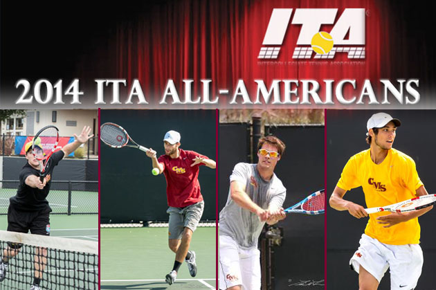 ITA tabs four from Stags Tennis as All-Americans