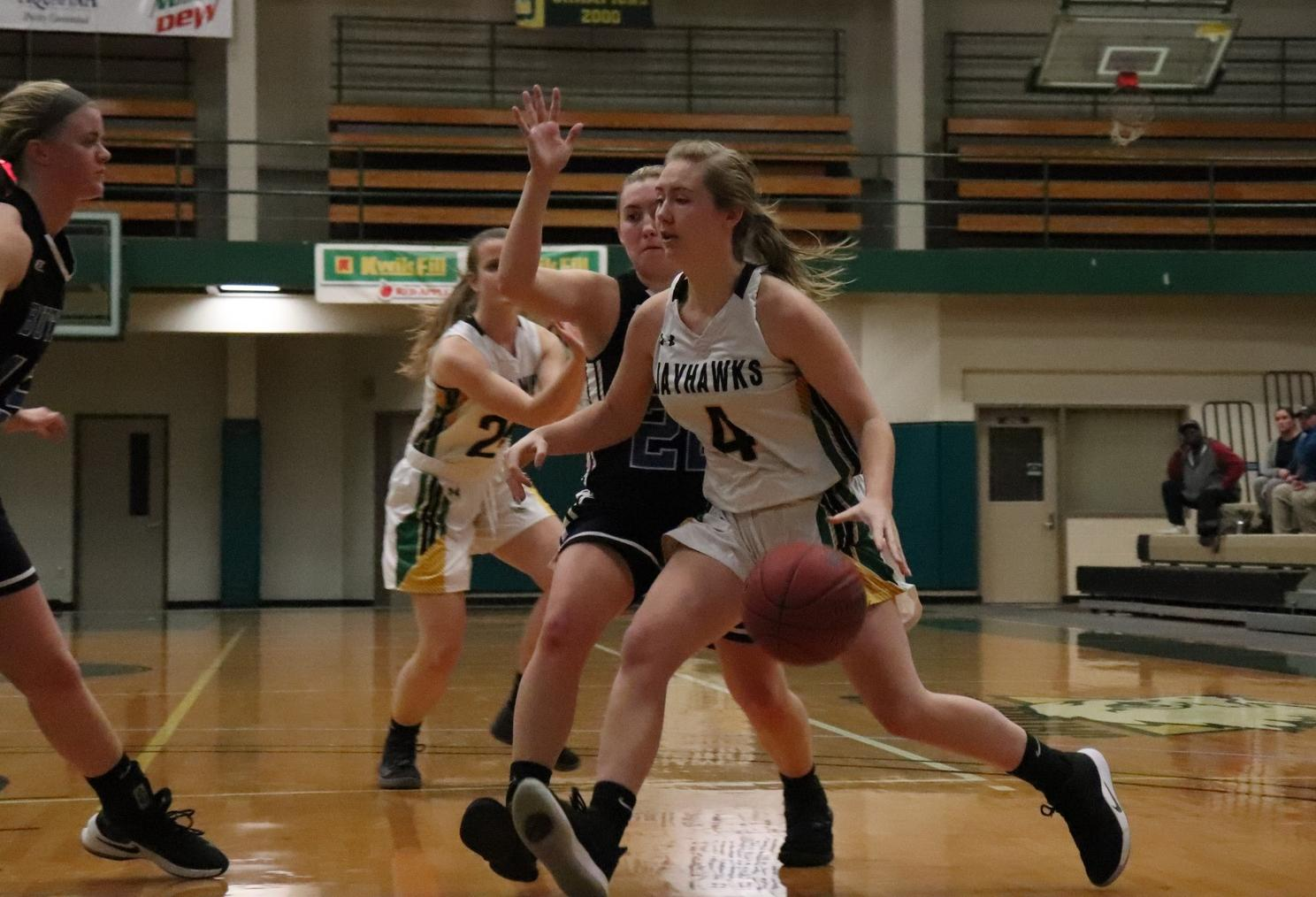 Hohl's 19 points pushes the Jayhawks over Beaver County