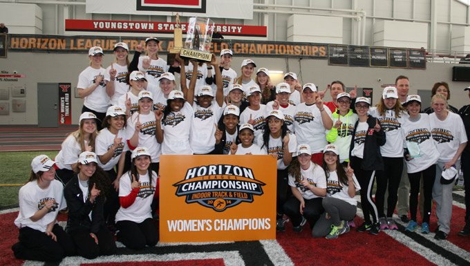 Women Earn Fourth HL Indoor Championship; Win By 80 Points